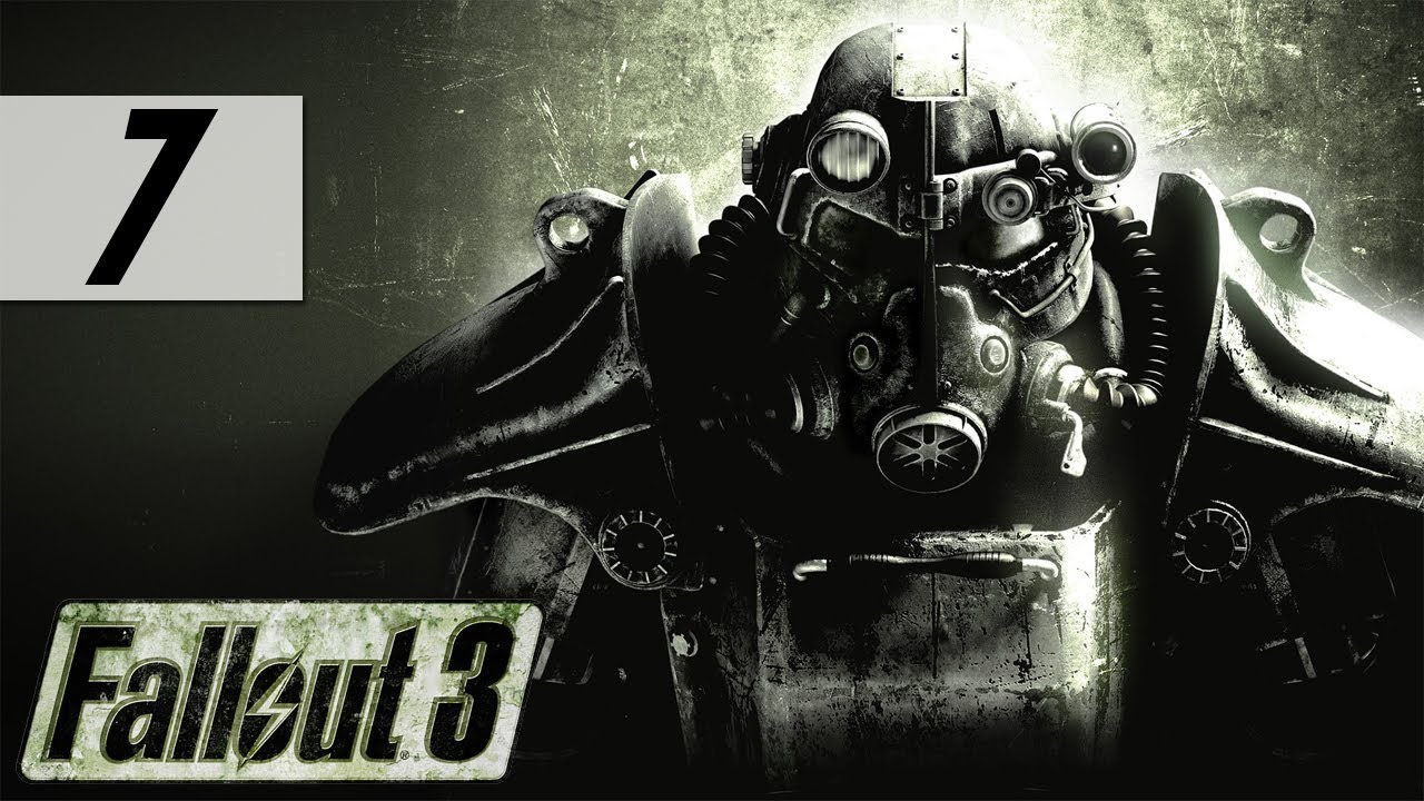 Fallout 3 - Let's Play - Part 7 - 'Hilarous Slow Mo Shouting'