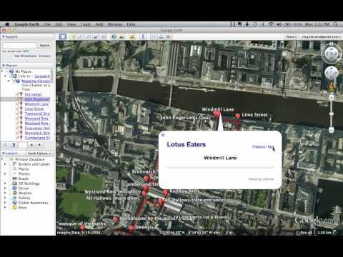 Dublin Map Video
