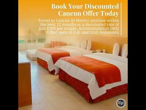 How To Book Discounted Accommodation in Cancun Mexico at Ocean Spa