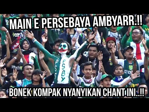 Kebobolan 3 Gol, Ribuan Bonek Kompak Nyanyikan Chant Ini Untuk Persebaya, Tribun Kidul