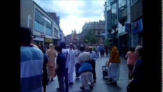 Leicester Ratha Yatra 2014 (Jaganath Puri Style)