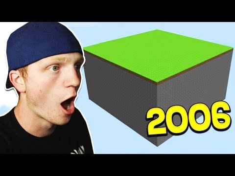 REACTING TO THE OLDEST MINECRAFT MAPS!