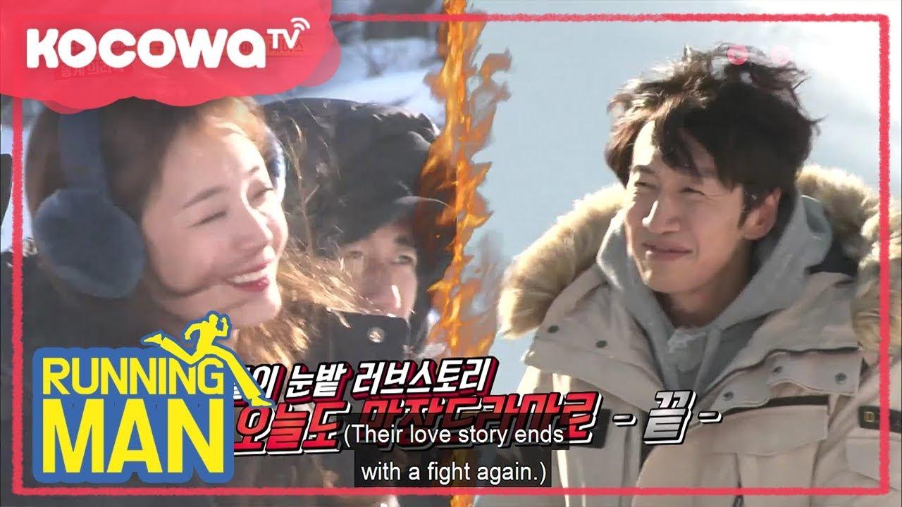 Somin & Kwangsoo as always [Running Man Ep 383]