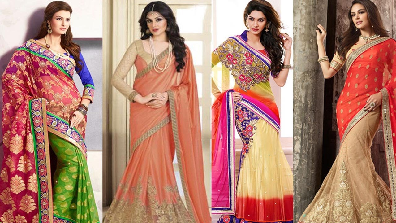 Different hairstyles to try with sarees - 5 Gorgeous Ways To Wear Saree For Party Like A Bollywood Celebrity Saree Draping Styles To Look Slim