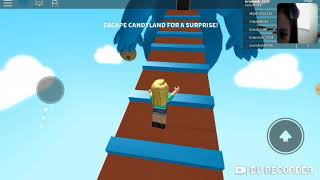 Playing roblox obby ari and baby don't fighting lol