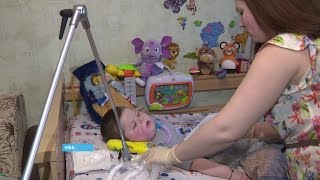 В Уфе редкое генетическое заболевание приковало к постели трёхлетнего ребёнка(Информационный сайт ГТРК