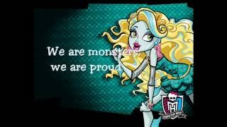 Monster High - Song: We are monster (Lyrics)