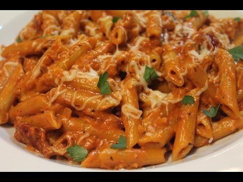 Dinner For Two : Penne With Homemade Vodka Sauce - I Heart Recipes