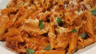Dinner for Two : Penne with Homemade Vodka Sauce