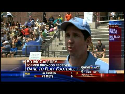 Ed McCaffrey Dare to Play/Dare to Cheer Camps for Children with Down syndrome