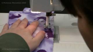How To Sew A Basting Stitch