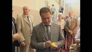 Сюжет о теннисном центре имени Романа и Анны Сокол.