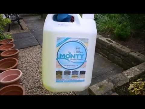 No More Power / Jet Washing, DIY with MONTY - INSTANT CLEANER