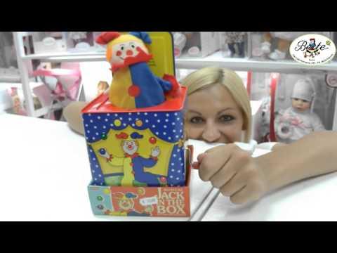 Schylling Musical Jack in the Box - Bertè Giocattoli - Roma