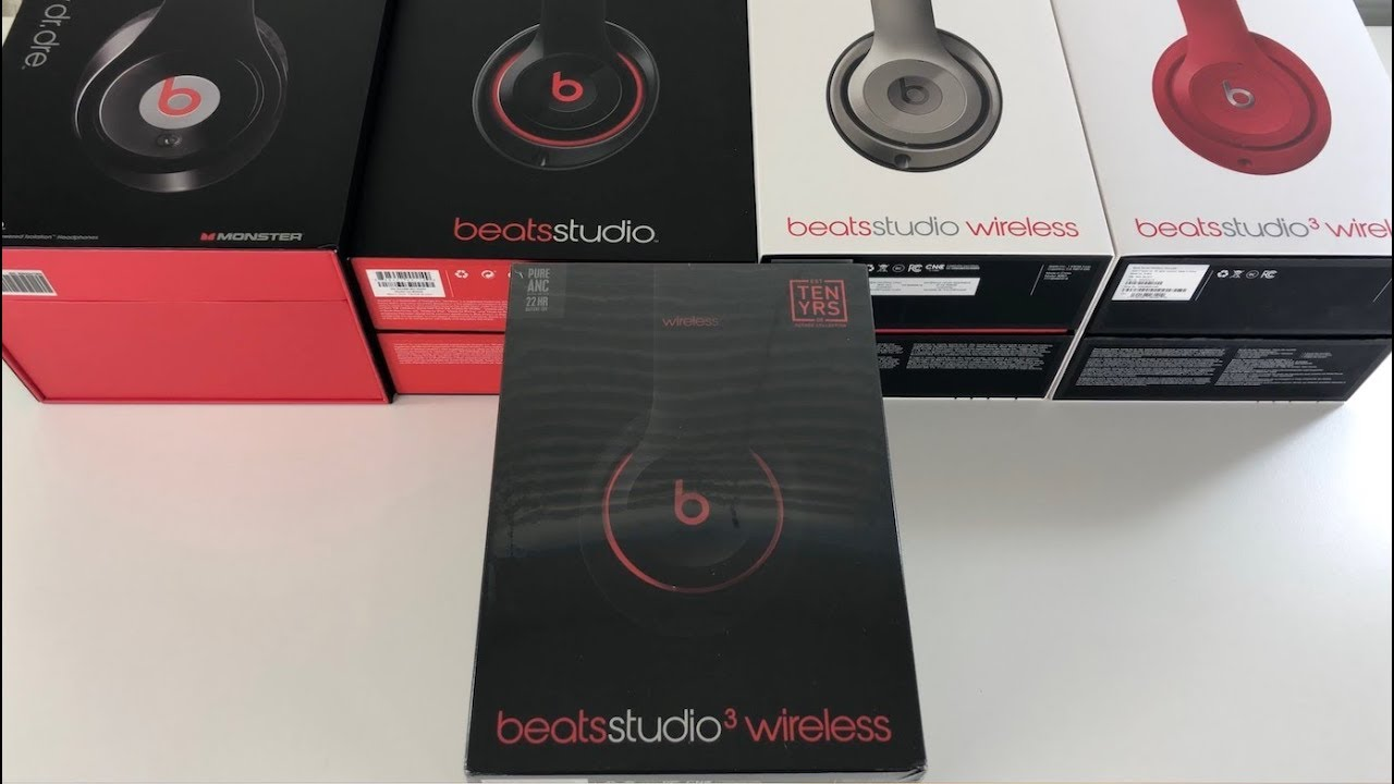 c4081b219f5 First Look: Beats Studio3 Decade Collection - YouTube