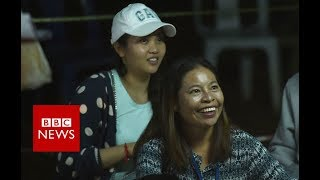 Thailand cave rescue: Families celebrate as boys are found - BBC News
