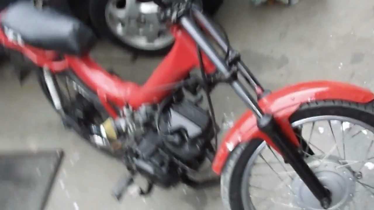 Mobilete Com Motor De Cg 125cc