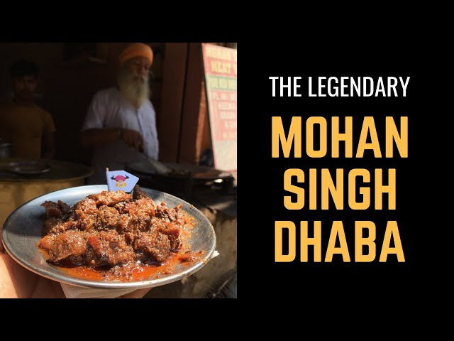 The Legendary Non Veg Dhaba | Mohan Singh Meat Shop