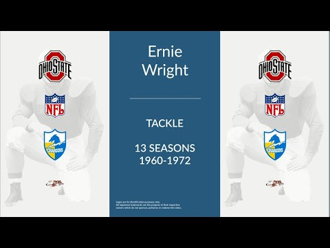 Ernie Wright: Football Tackle