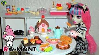 Re-ment: My Melody (hello Kitty) Omotenashi Kitchen Miniaturas Unboxing