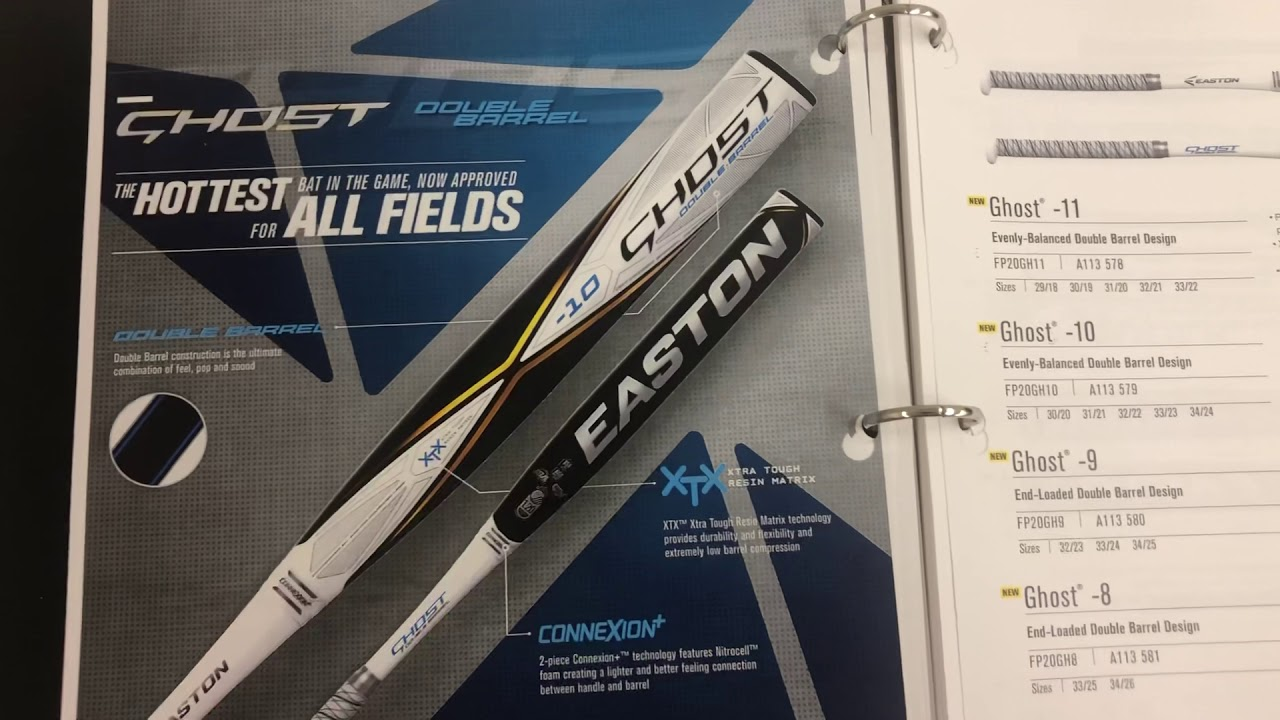 Easton 2020 Fastpitch Dual Stamp Ghost Lineup ASA USSSA