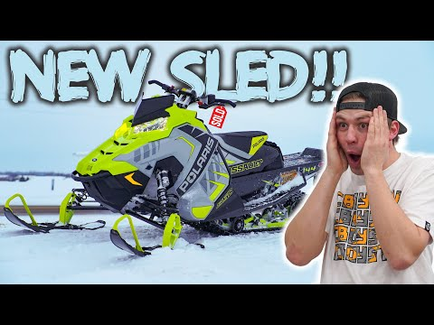 Surprising Friend With Brand New Snowmobile!!