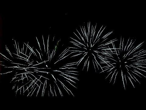 Fireworks in Warsaw Sylwester 2017/2018 Warszawa Plac Bankowy Ekologicze Fajerwerki