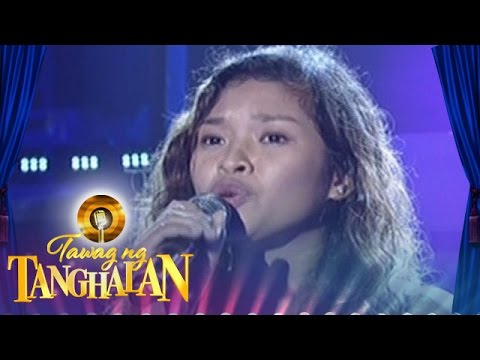 Tawag Ng Tanghalan: Alona Jane Albelar | All I Ask
