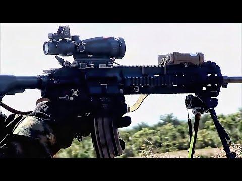 Welcome To The MEU • Marine Corps Fire Team & Hovercraft