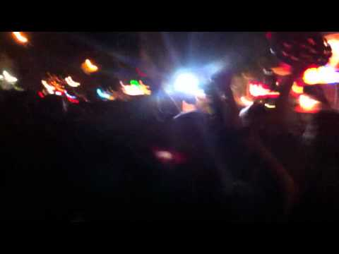 Post-World Series party in the streets - news cameraman creates chaos