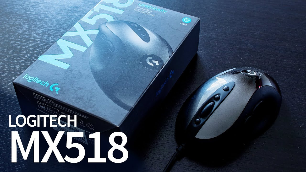 155044ca9a9 Quick Review: Logitech MX518 Legendary - The Best Gaming Mouse 2019 ...