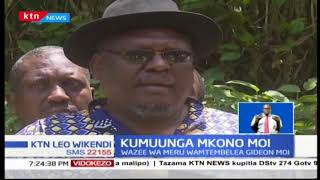 Seneta wa Baringo Gideon Moi akutana na wazee kutoka Meru