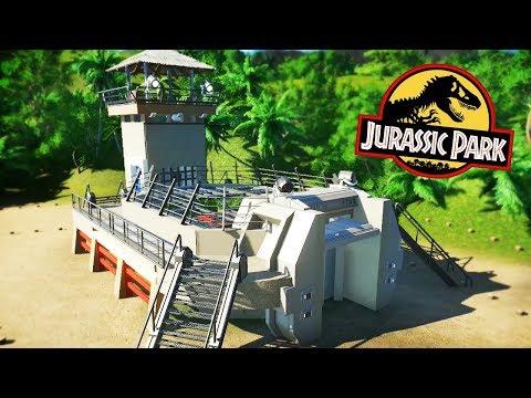 A Tour Of ISLA NUBLAR! IF JURASSIC PARK OPENED! | Planet Coaster Mod Spotlight