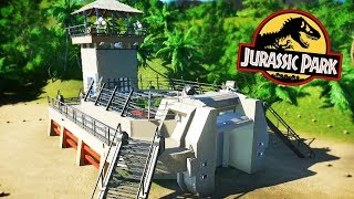 A Tour Of ISLA NUBLAR! IF JURASSIC PARK OPENED! | Planet Coaster Mod Spotlight