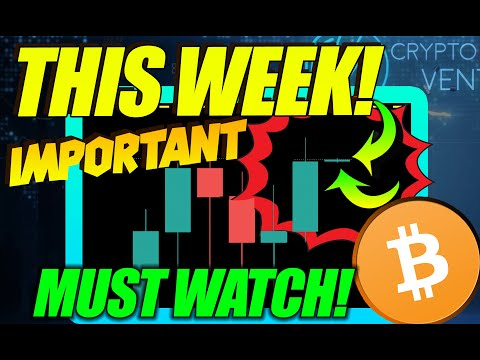 BITCOIN OPENS MOST IMPORTANT WEEKLY CANDLE IN MONTHS! HERE IS WHAT BTC MUST DO NOW!