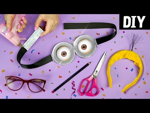 DIY of Easy and Cheap Costumes 🎉 to Enjoy the Carnival   Minions, Cilli and Where's Wally?