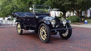 1915 Packard 7 Passenger Touring Model 125 & Twin Six Engine On My Car Story With Lou Costabile