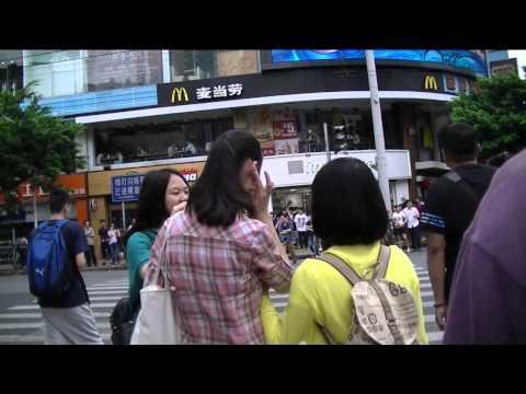 Guangzhou Pedestrian St and Beijing Lu