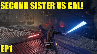 Star Wars Jedi: Fallen Order - Cal meets the Inquisitors! Second Sister vs Cal lightsaber duel! EP1