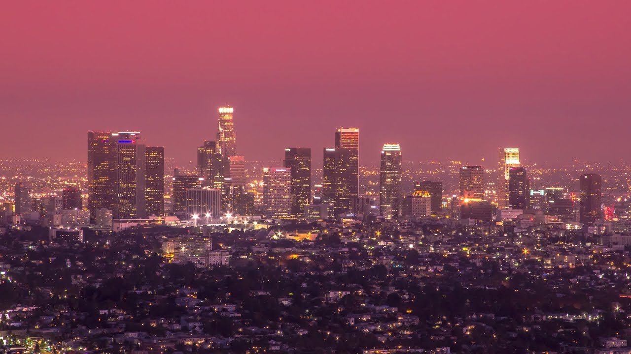 Unlimited City Los Angeles Timelapse 4k Youtube