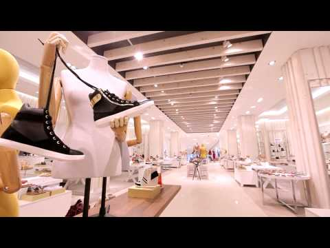 Largest Shoe Department in Canada at Hudson's Bay