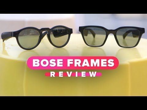 871223139 Bose Frames review: These headphones are sunglasses - YouTube