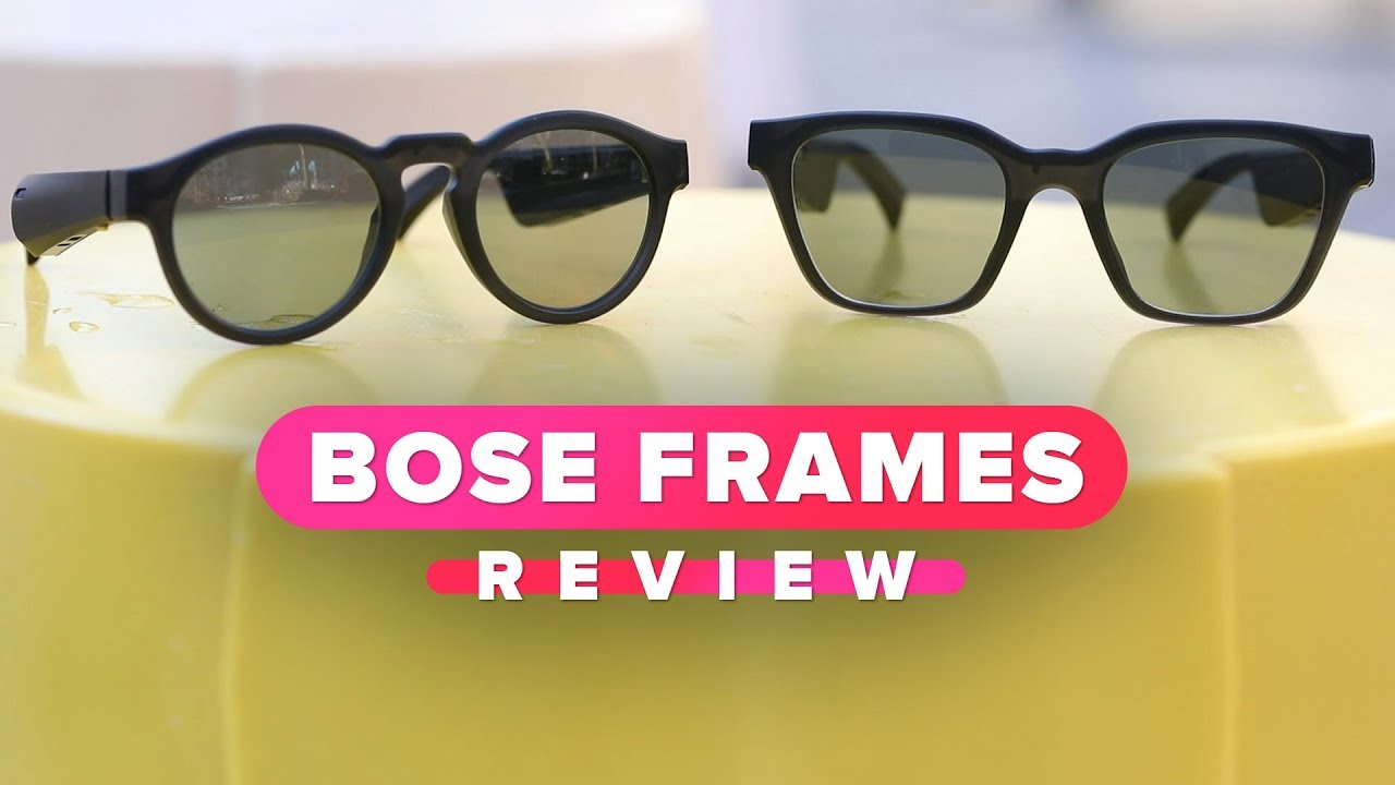 d76b39a1eb6 Bose Frames review  These headphones are sunglasses - YouTube