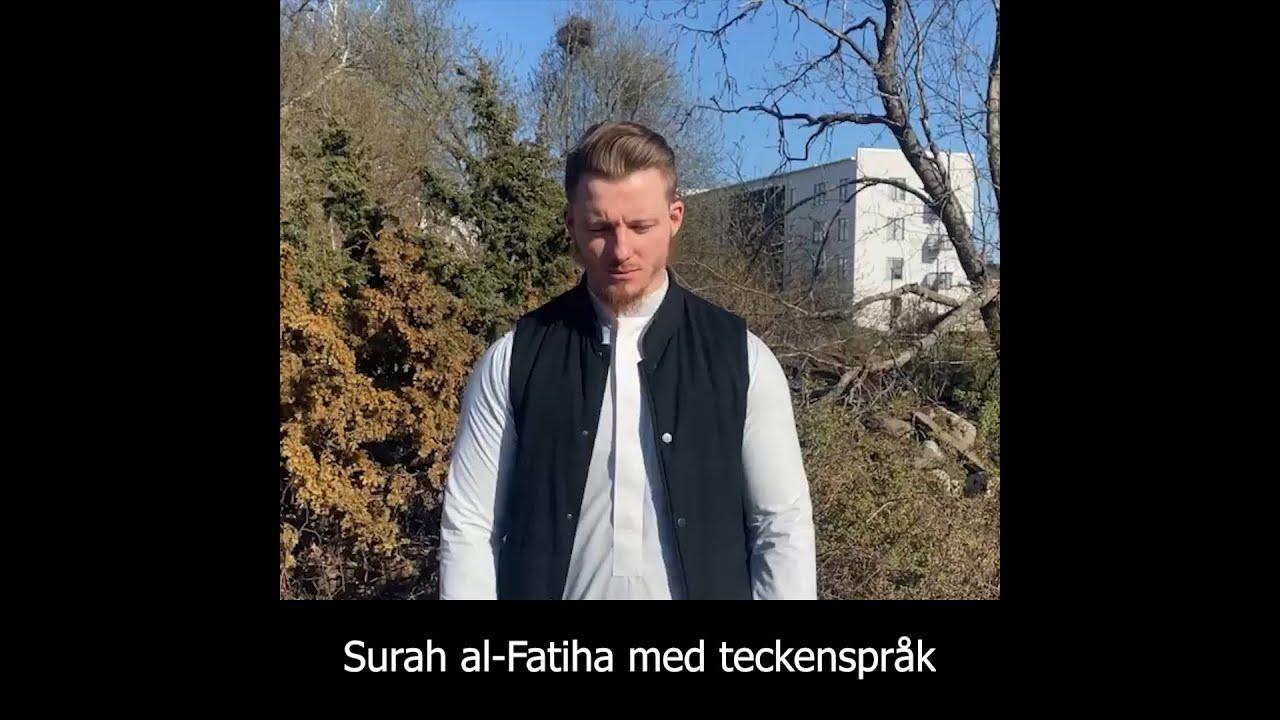 Surah al-Fatiha med teckenspråk