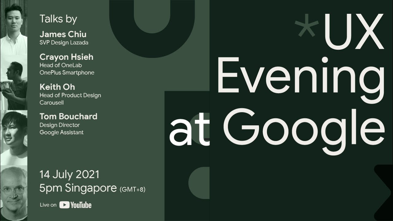 UX Evening at Google: User Interfaces of Tomorrow