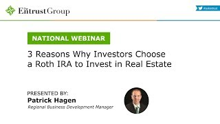 3 Reasons why Investors Choose a Roth IRA to Invest in Real Estate - Video Image