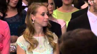 Sister not expecting the cameras at the Swedish Hellqvist Royal Wedding