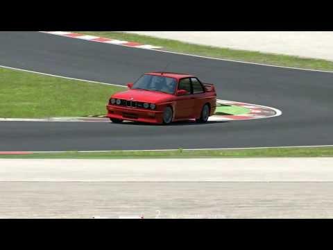 Assetto Corsa BMW M3 E3 SlowMotion at Imola