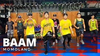 BAAM by Momoland | Zumba® | KPop | TML Crew Camper Cantos