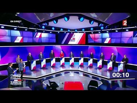 """""""15 minutes pour convaincre"""" - La conclusion des 11 candidats sur France 2"""
